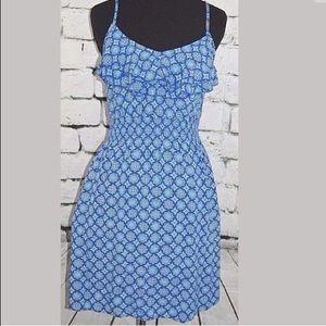 Woman's Elle medium Boho Hippie style fitted dress